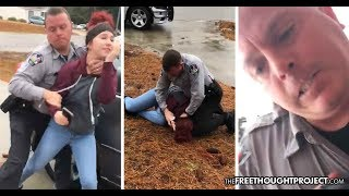 Harnett County Deputies Arresting Teen Girls as they Filmed