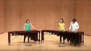 Leroy Anderson / Plink Plank Plunk プリンク プランク プルンク Marimba Ensemble ♪ Remix ♪