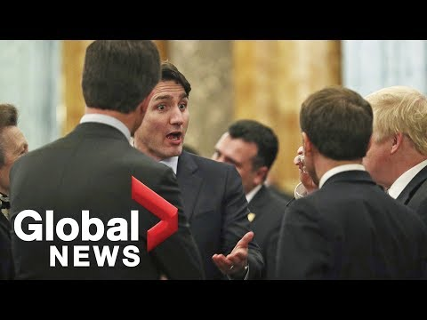 Video captures Trudeau