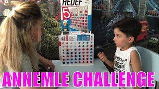 ANNEMLE REDKA HEDEF 5 OYUNU OYNADIK! | Eğlenceli Zeka ve Strateji Oyunu | Eğlenceli Çocuk Videoları