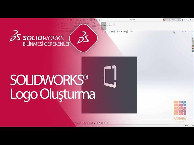 SOLIDWORKS Logo Oluşturma | Blok Kaydetme