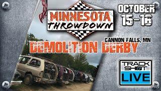 Download lagu Minnesota Throwdown Demolition Derby Cannon Valley Fairgrounds Cannon Falls Mn