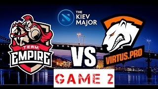 Dota 2 -VP vs EMPIRE [GAME 3] THE KIEV MAJOR [EN] EMPIRE vs VP