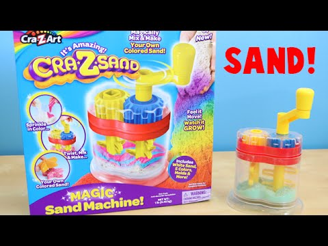 Cra-Z-Art Magic Sand Machine - Make Your Own Colored Sand