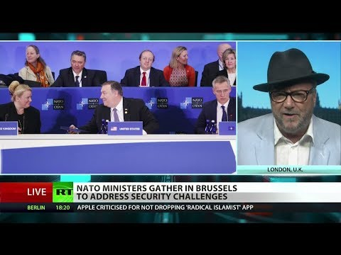 "Galloway on NATO: ""It's NATO that has its military bases pointing at Russia"""