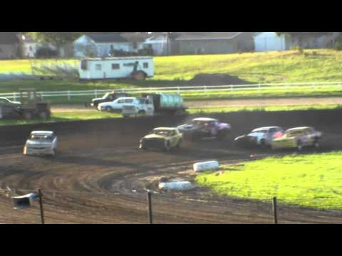 jackson county speedway hobby stock heat 8/30/14