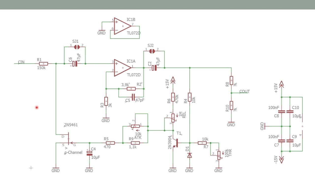 Kompressor - Projekt Soundmixer - Mischpult im Eigenbau - YouTube
