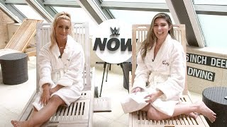 Carmella live SummerSlam interview: WWE Now