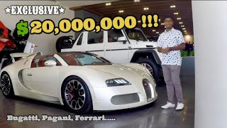 THE $20,000,000 RARE HYPERCAR COLLECTION IN SAUDI ARABIA *full tour* !!! - Teen Car Manics