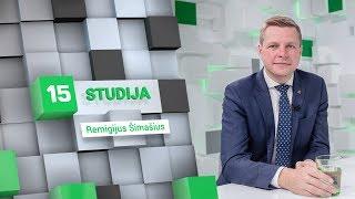 15min studijoje – Vilniaus mero rinkimus laimėjęs Remigijus Šimašius