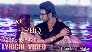 Ishq Nahi Aasaan | Sonu Nigam | Full Video Song | Guddan Tumse Na Ho Payega | Puneet Dixit