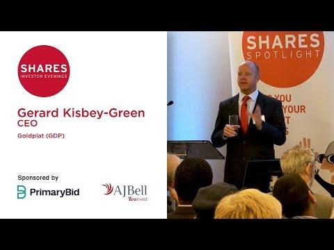 Gerard Kisbey-Green, CEO - Goldplat (GDP)