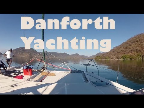 Yachting in Lake Malawi National Park, Africa