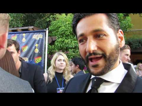 EXCLUSIVE: The Exapanse's Cas Anvar on the Saturn Awards Red Carpet