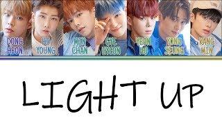 Verivery light up (밝혀줘) color coded lyrics han / rom eng