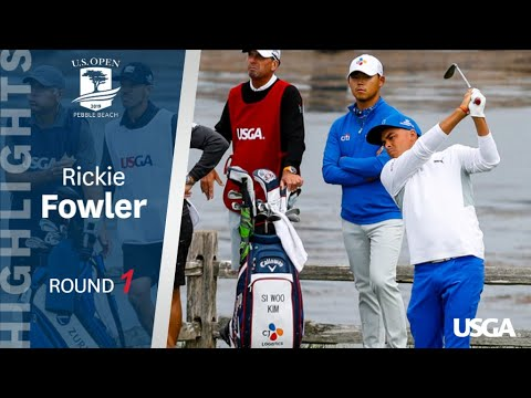 2019 U.S. Open, Round 1: Rickie Fowler Highlights