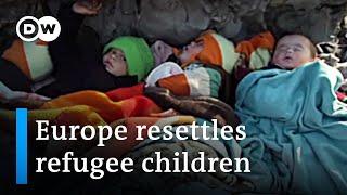 EU border: Europe and Turkey negotiate distribution of refugees   DW News