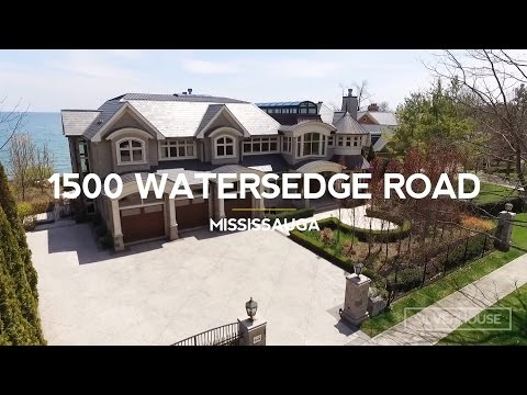 $8.8 MILLION LUXURY HOME - 1500 Watersedge Road - Mississauga - Luxury Real Estate Video Tour