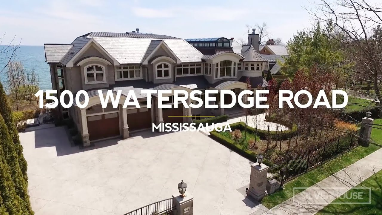 $8.8 MILLION LUXURY HOME   1500 Watersedge Road   Mississauga   Luxury Real  Estate Video Tour