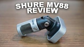 Shure MV88 iOS Condenser Mic Review / Test