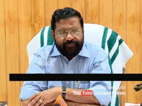 Kadakampally Surendran supports Athirappilly project