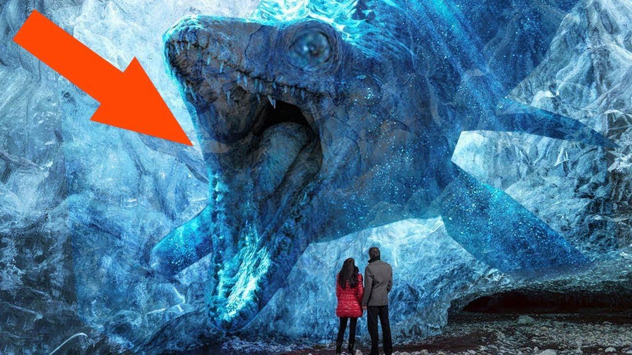 شاهد ماذا اكتشفوا في الجليد لن تتخيل !!!!