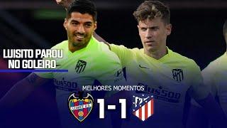 Леванте Атлетико Мадрид 1 1 Обзор Матча Чемпионата Испании 17 02 2021 HD