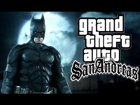 GTA San Andreas - Batman Mod