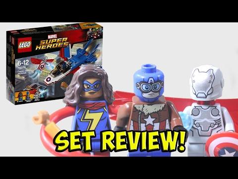 NEW LEGO 76076 Super-Adaptoid Marvel Super Heroes Minifigure Minifig