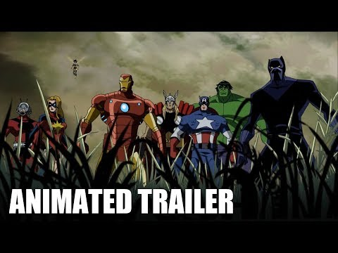 Avengers: Infinity War Animated Trailer 2