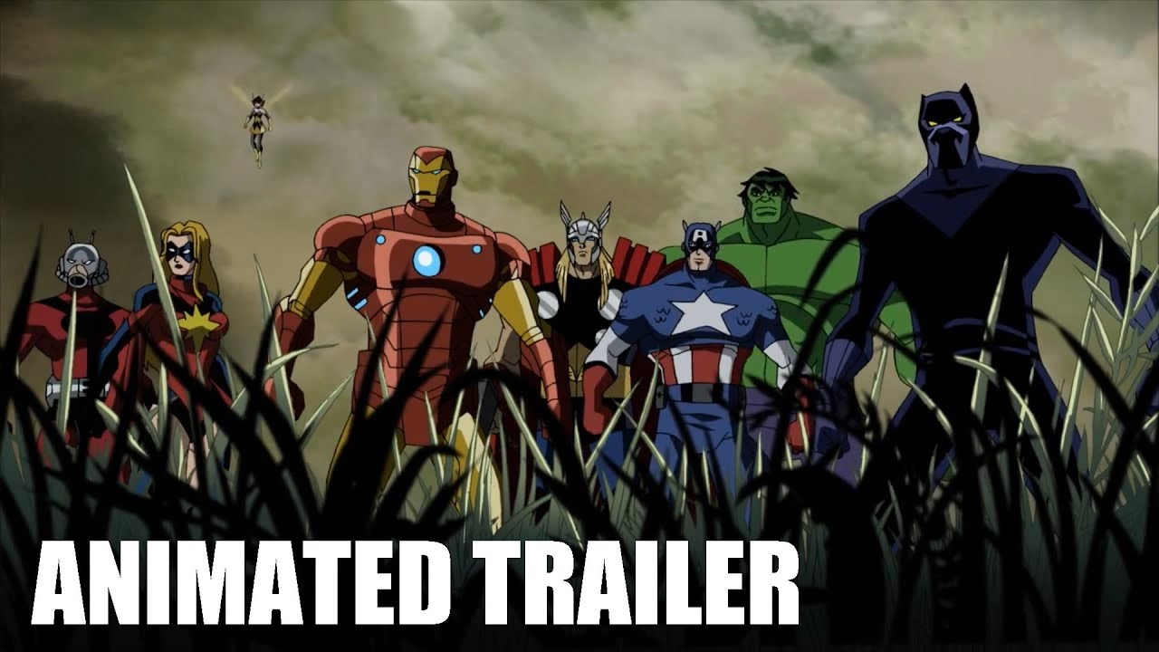 avengers: infinity war animated trailer 2 - youtube