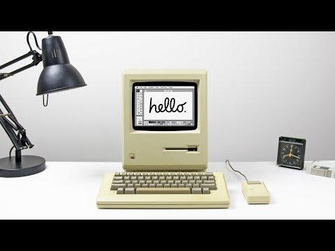 MAC DESK SETUP - 1984 APPLE RETRO EDITION!