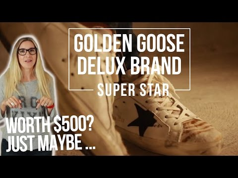 Are these Golden Goose Sneakers Worth $500? | Golden Goose Super Star Sneaker Unboxing