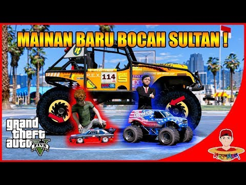 GTA V MOD (50) - BOCAH SULTAN BELI MAINAN RC BARU !!