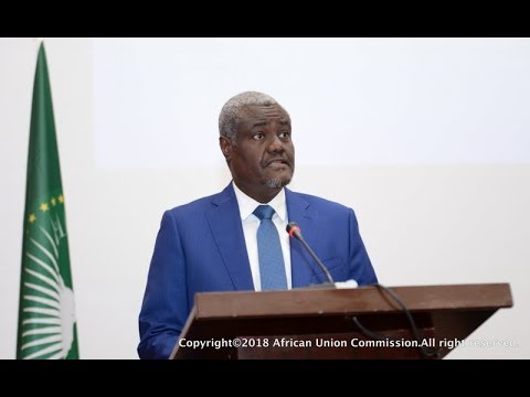 Chairperson of the Commission of the African Union, Moussa Faki Mahamat.