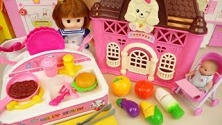 Baby doll kitchen and house box toys baby Doli play