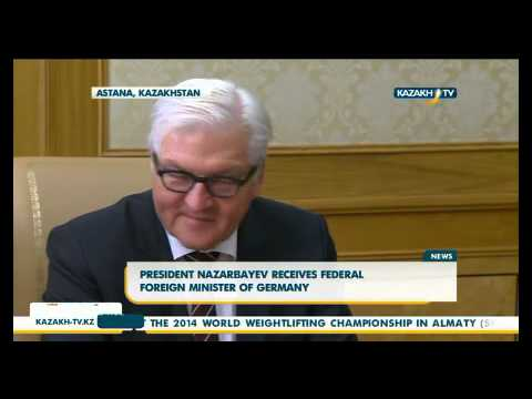 President Nazarbayev receives federal foreign minister of Germany