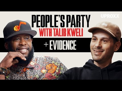 "Talib Kweli And Evidence Talk Dilated Peoples, Producing For Kanye & Eminem ""Beef"" I People's Party"