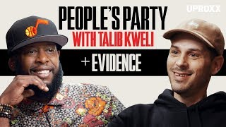 """Talib Kweli And Evidence Talk Dilated Peoples, Producing For Kanye & Eminem """"Beef"""" I People's Party"""