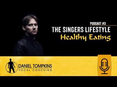 [Podcast #3] – The Singers Lifestyle – Healthy Eating