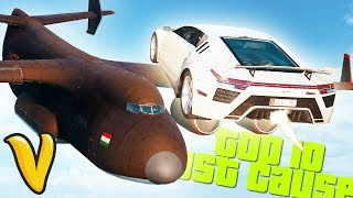 JUST CAUSE 3 STUNTS & WINS! Top 10 Just Cause 3 Stunts!