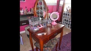 2014 Makeup Storage And Organization (closet Office)