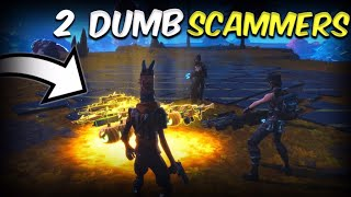 Two Dumb Scammer Tried To Mod My Whole Inventory! (Scammer Gets Scammed) Fortnite Save The World