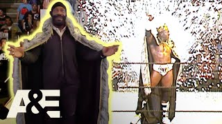 WWE's Most Wanted Treasures: Booker T Gets His Black Robe Back With Stone Cold's Help | A&E