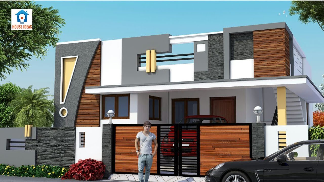 Best Indian Single Floor House Elevation Images Beautiful Front
