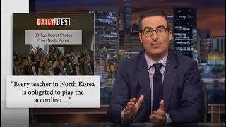 John Oliver - 30 Top Secrets in North Korea - Last Week Tonight (HBO) Oct 22