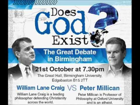 Debate - Does God Exist? William Lane Craig vs Peter Millican (Audio Only)