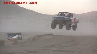 ROBBY GORDON PUTS ON A SHOW