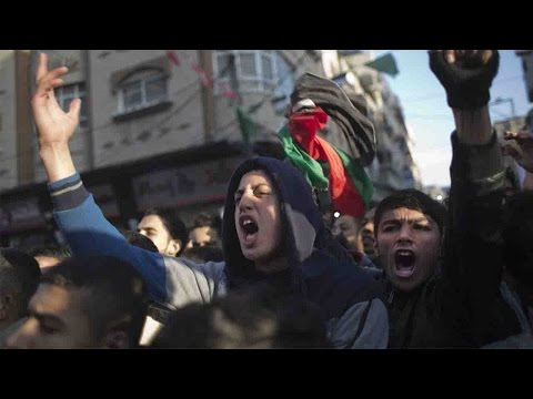 Thousands protest power outages in Gaza, clash with Hamas forces