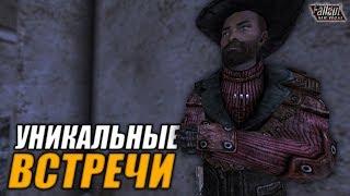 Fallout New Vegas  УНИКАЛЬНЫЕ ВСТРЕЧИ  - ВСТРЕЧА С РАВНЫМ, ХОЗЯИН ВЕТРО-БРАМИНОВ